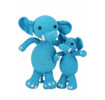 Kit Amigurumi Elefantes Sara y Simba