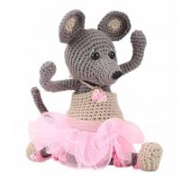 Amigurumi Kit Mouse Ella - Front