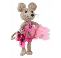 Amigurumi Kit Mouse Emily - Front