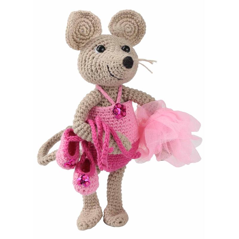 Amigurumi Kit Mouse Emily - Las Tijeras Magicas