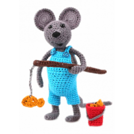 Amigurumi Kit Mouse Arno