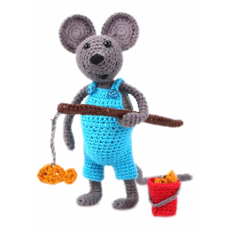 Amigurumi Kit Mouse Arno