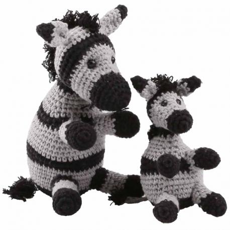 Amigurumi Kit Zebras Paula and Peter