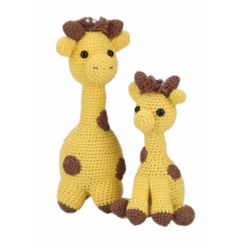 Amigurumi Kit Giraffes Julia & Lotta