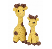 Amigurumi Kit Giraffes Julia & Lotta