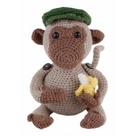 Amigurumi Kit Monkey Jimmi