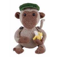 Amigurumi Kit Monkey Jimmi