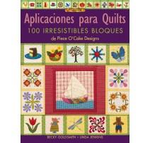Aplicaciones para quilts. 100 irresistibles bloques