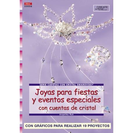 Joyas para fiestas y eventos especiales con cuentas de cristal