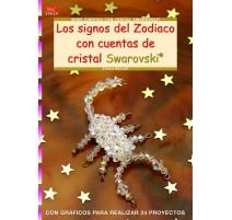 Los signos del Zodiaco con cuentas de cristal Swarovski