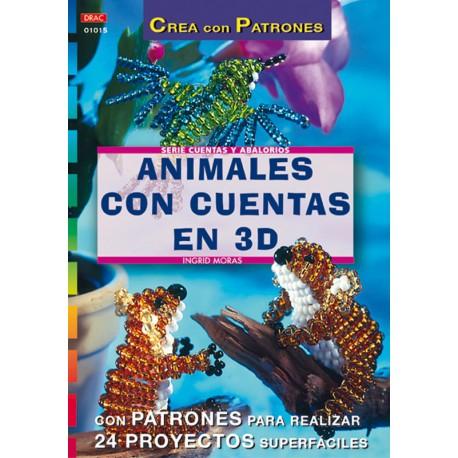 Animales con cuentas en 3D