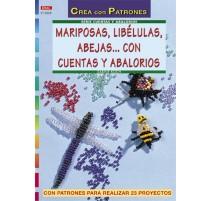 Mariposas, libélulas, abejas... con cuentas y abalorios