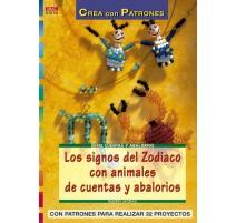 Los signos del Zodiaco con animales de cuentas y abalorios