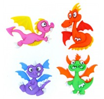 Dragon Tale Buttons