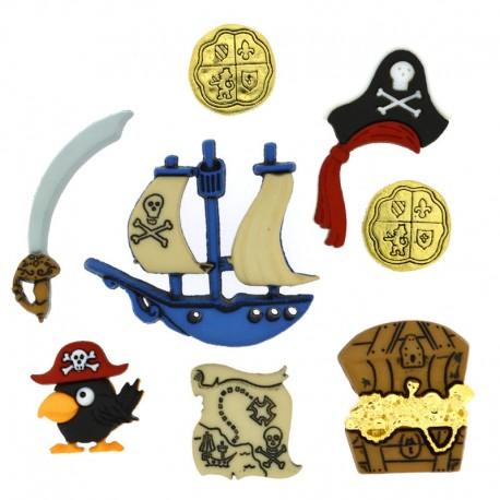 Botones Piratas