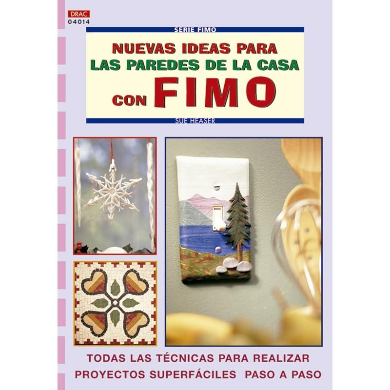 Nuevas ideas para las paredes de la casa con Fimo