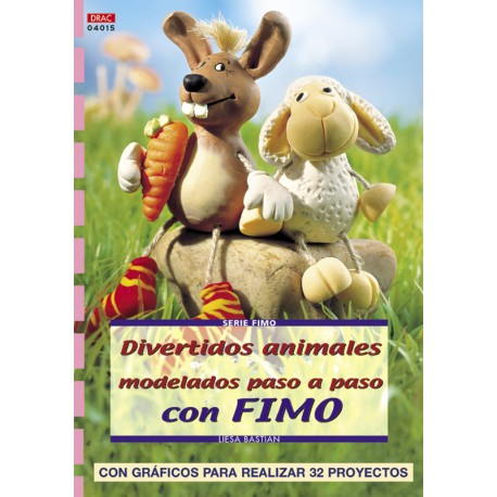 Divertidos animales modelados paso a paso con Fimo