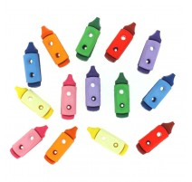Botones Lápices Crayon