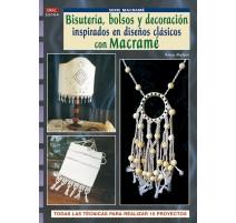 Bisutería, bolsos y decoración inspirados en diseños clásicos con macramé
