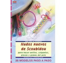 Nudos nuevos de Scoubidou para hacer anillos, colgantes, pinzas y gomas del pelo
