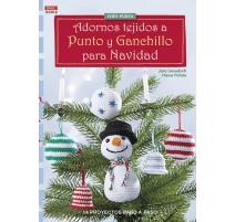 Adornos Tejidos a Punto y Ganchillo para Navidad