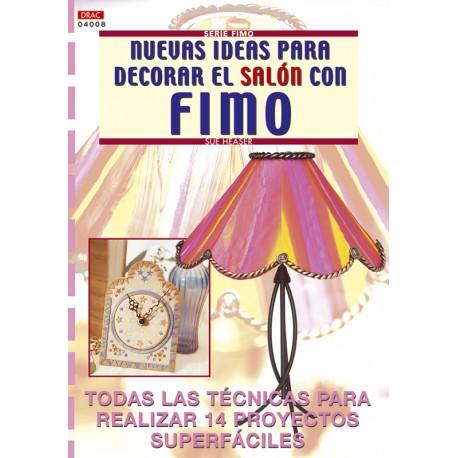 Nuevas ideas para decorar el salón con Fimo