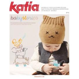 Katia Knitting Magazine Babystories Nº 4