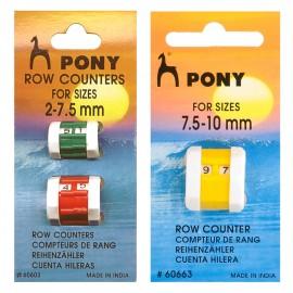 Contadores de vueltas Pony