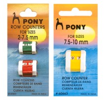 Pony Row Counters