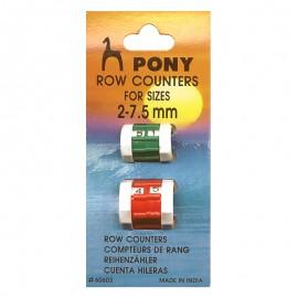 Contadores de vueltas Pony 2 mm - 7.5 mm