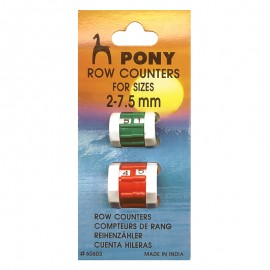 Pony Row Counters 2 mm - 7.5 mm