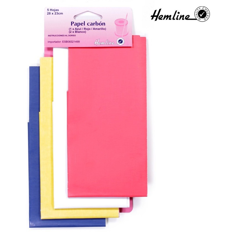 Hemline Dressmakers Carbon Paper (5 Sheets)