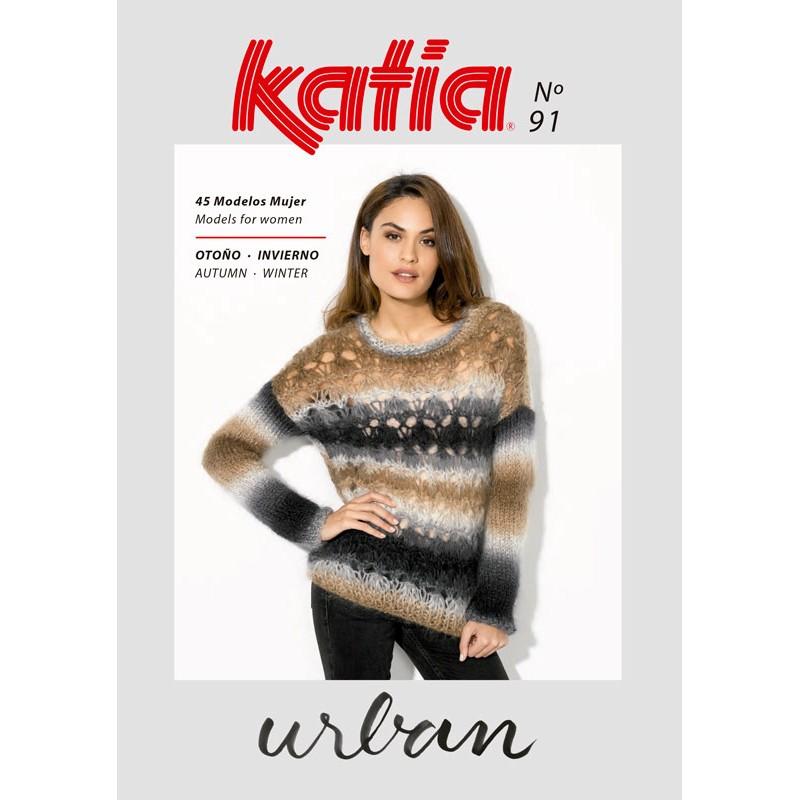 Revista Katia Mujer Nº 91 Urban - Las Tijeras Mágicas