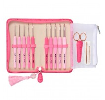 Set de Ganchillos Tulip Etimo Rose Softgrip