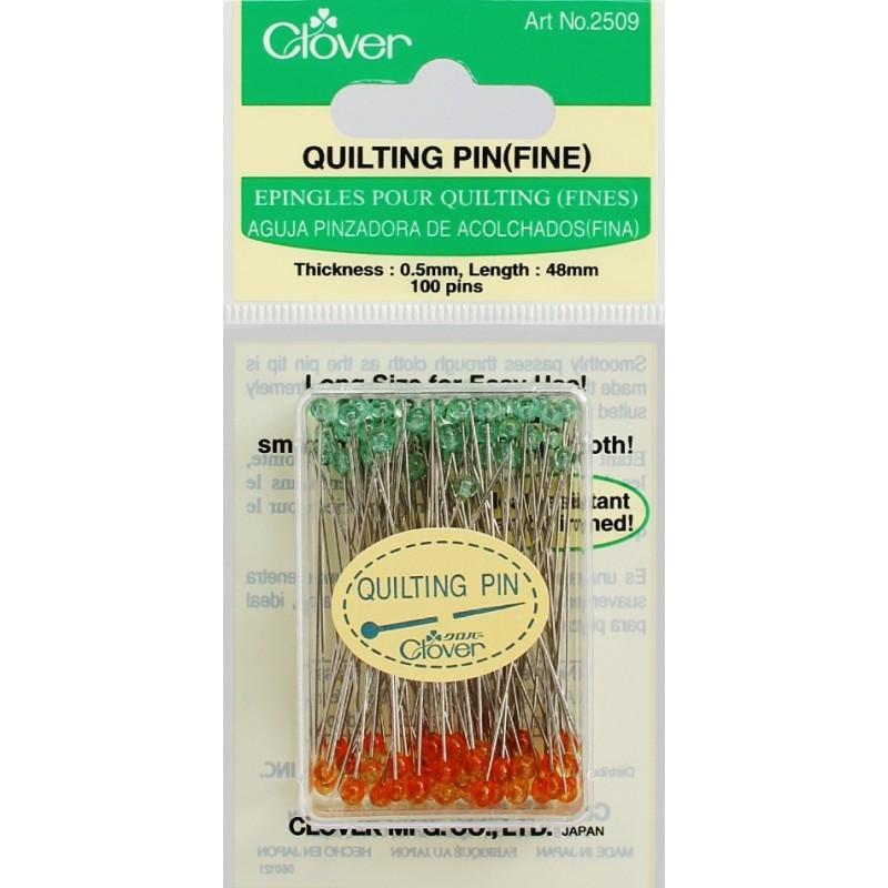 Alfileres para Qulting (Finos) Clover