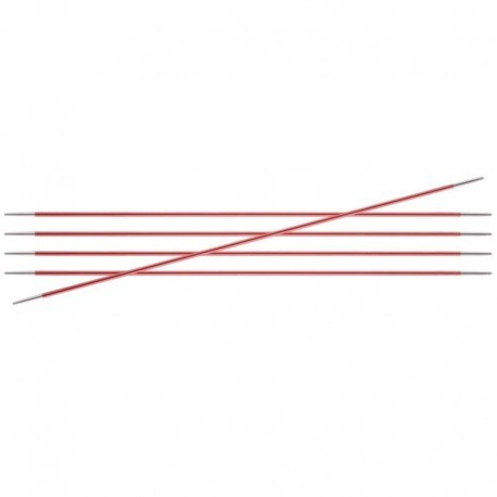 Agujas doble punta 20 cm Zing KnitPro