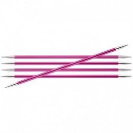 KnitPro verdor Doble Punta Aguja Case-dpn 15cm//20cm artesanías Stripey