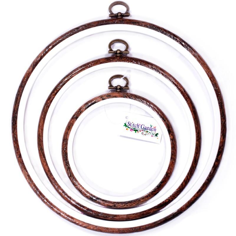Stitch Garden Circular Embroidery Hoop Frame