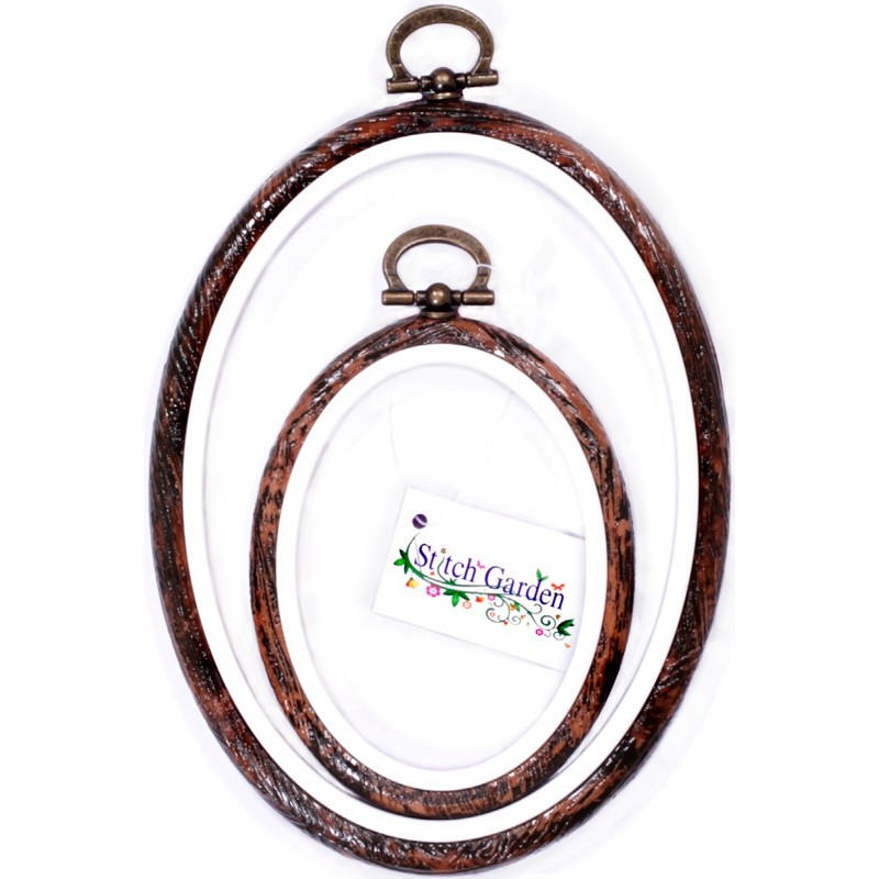 Stitch Garden Oval Embroidery Hoop Frame