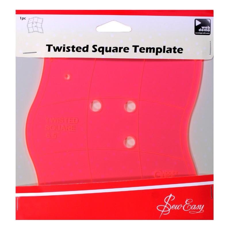 Plantilla para cuadrados ondulados Sew Easy
