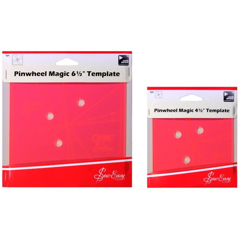 Sew Easy Pinwheel Magic Template