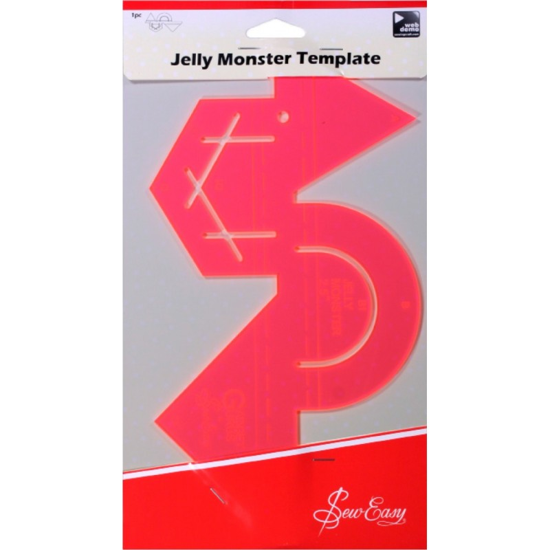 Sew Easy Jelly Monster Template