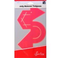 Plantilla combinada Jelly Monster Sew Easy