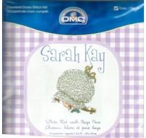 Kit punto de cruz DMC Sarah Kay