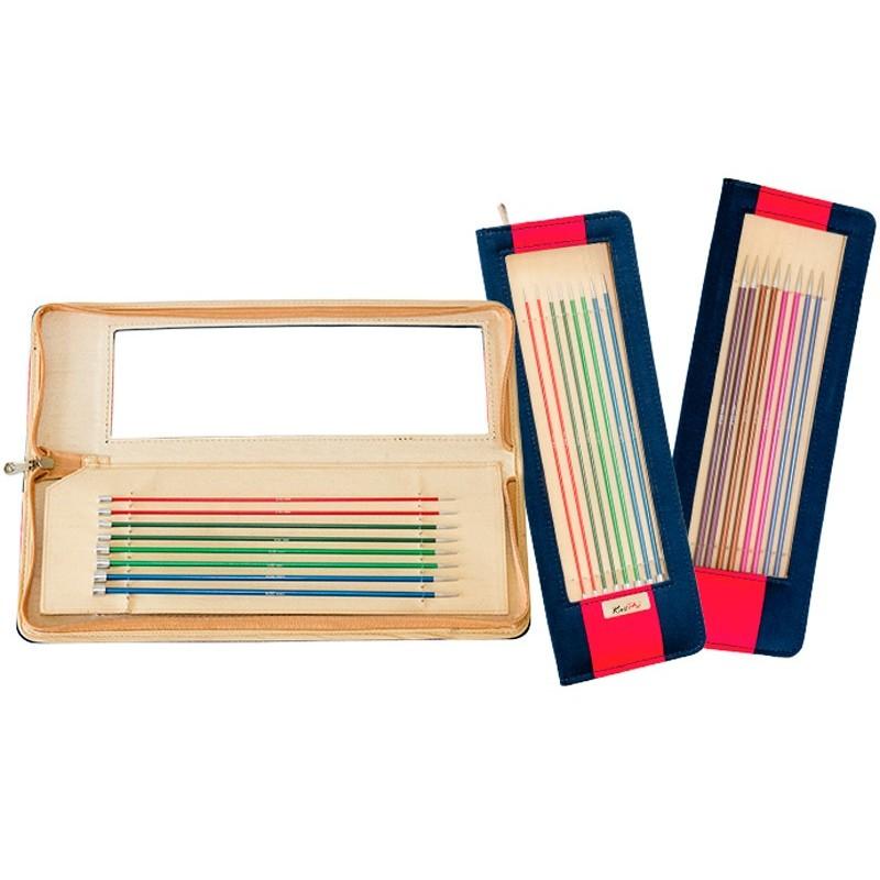 KnitPro Zing Knitting Needles 40 cm Set