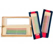 KnitPro Zing Knitting Needles 40 cm Set