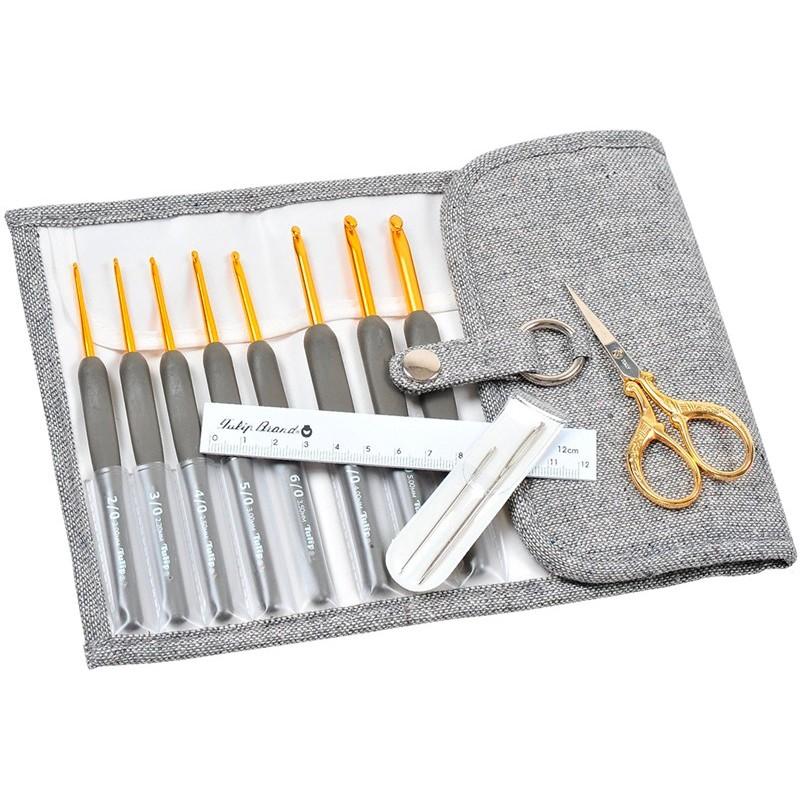 Crochet Hooks Tulip Etimo Premium Gold Set