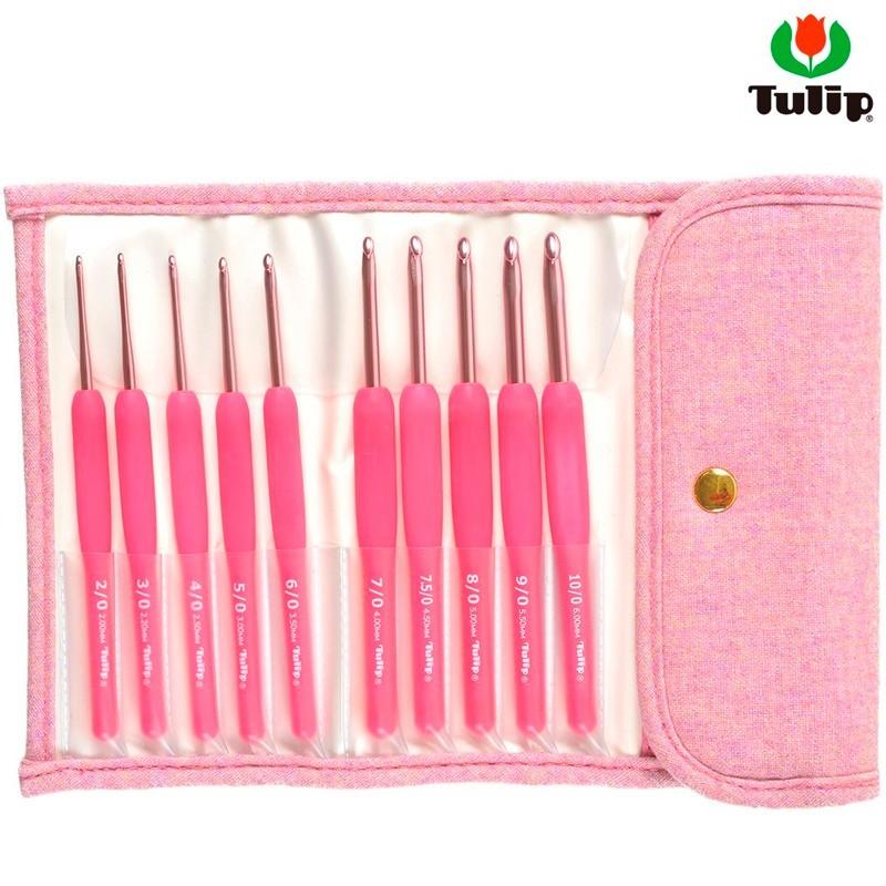 Tulip Pink Etimo Candy Crochet Hooks Set