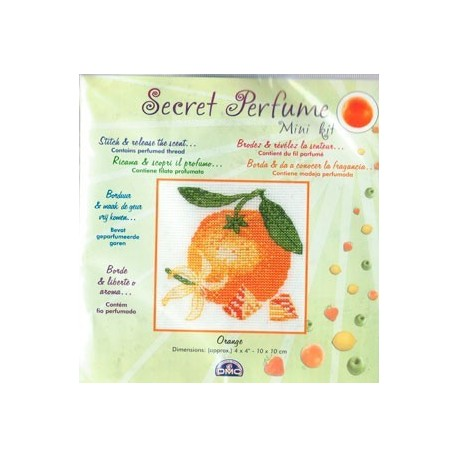 Kit Secret Perfume Naranja