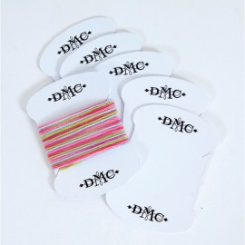 6 Thread Cards DMC